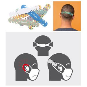 """Fülvédő arcmaszk """"kényelmesítő"""""""